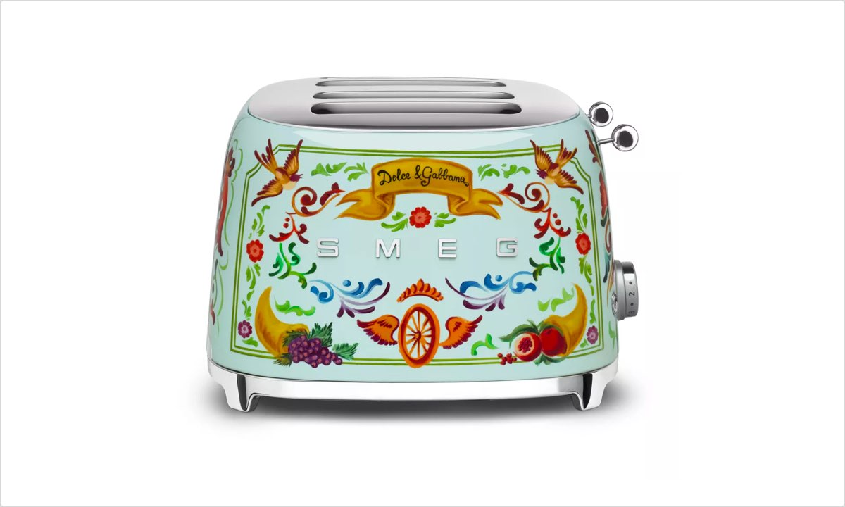 Replace staples with high quality items, like this Smeg toaster