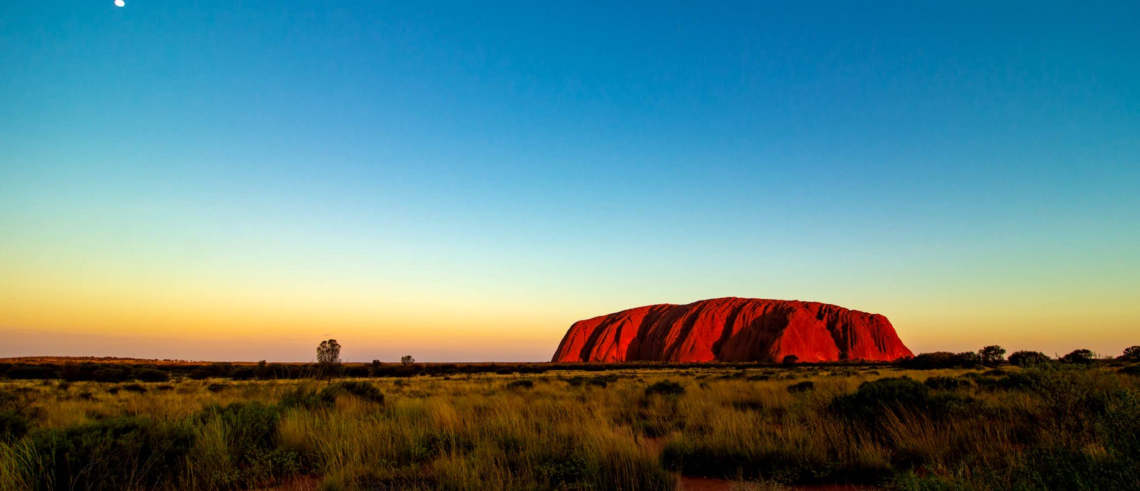 Ayers rock, Australia at Sunset