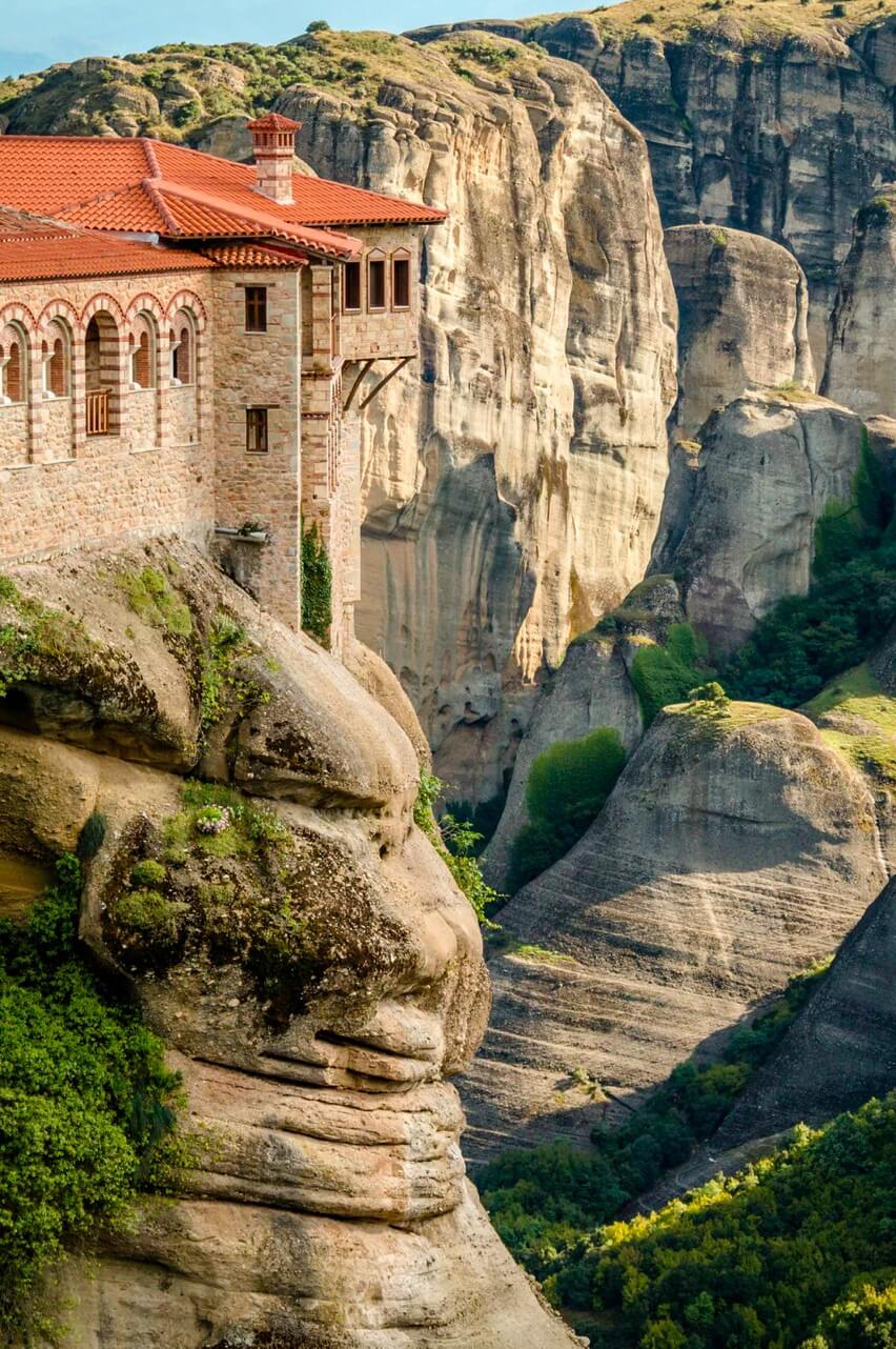 The mountains of Meteora, Greece