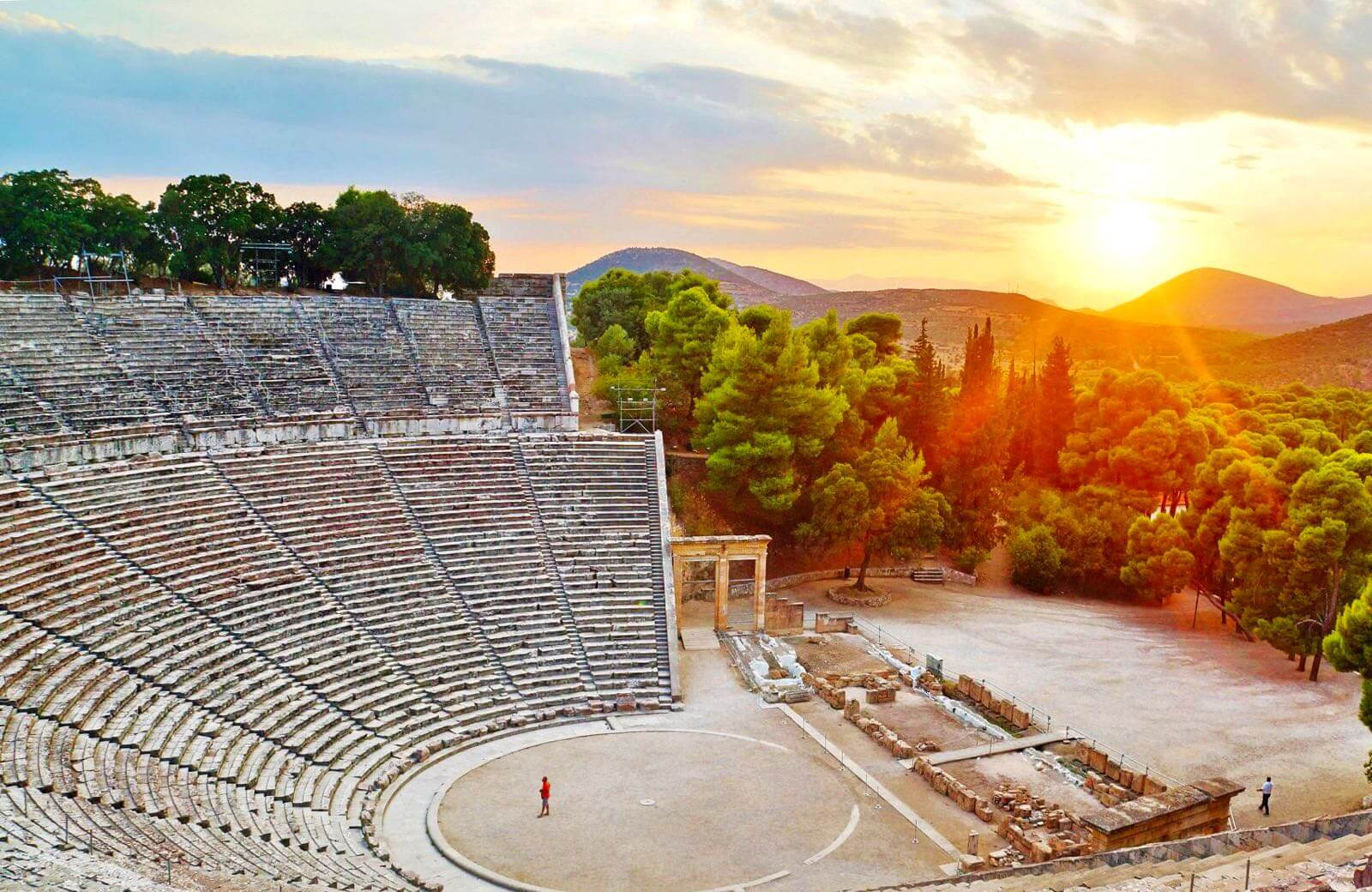 Ancient Epidaurus Theater